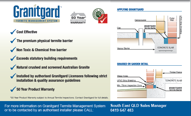 granitgard technical information